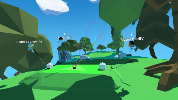 Oculus Quest游戏《Cloudlands 2》云大陆~迷你高尔夫插图