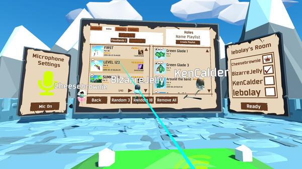 Oculus Quest游戏《Cloudlands 2》云大陆~迷你高尔夫插图(3)