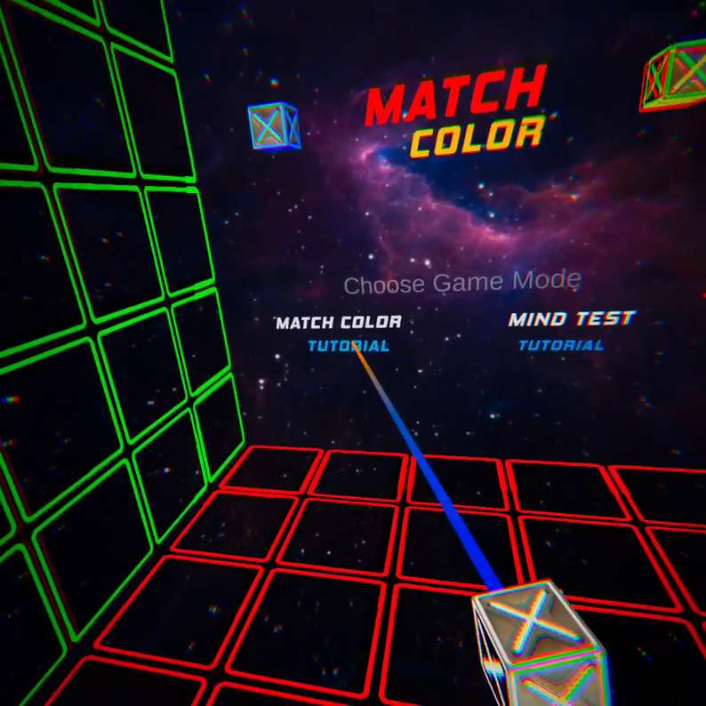 Oculus Quest 游戏《Match Color》颜色反射插图(1)