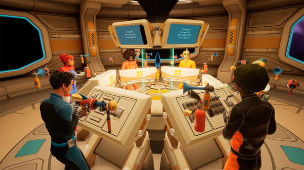 Oculus Quest 游戏《Spaceteam VR》太空冒险插图