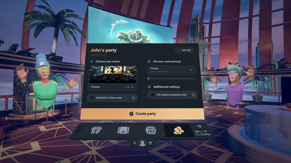 Oculus Go/Quest 在线影视应用《CineVR》多人在线影院插图