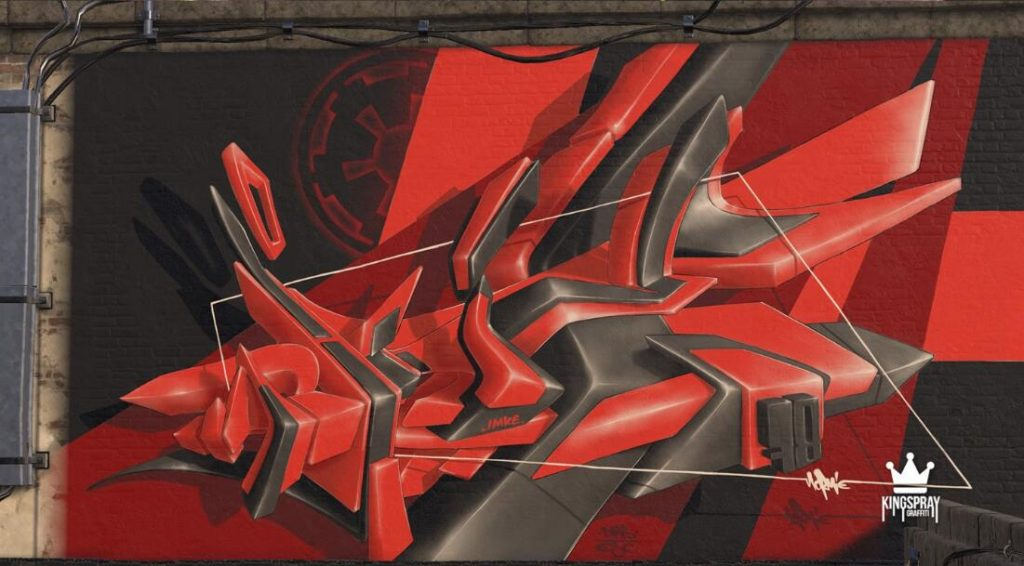 Oculus Quest版《Kingspray Graffiti》涂鸦模拟器