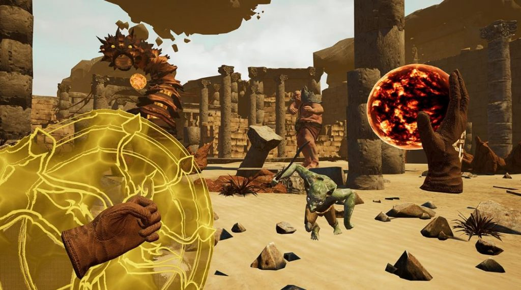 Oculus Quest版 The Wizards 无界术士