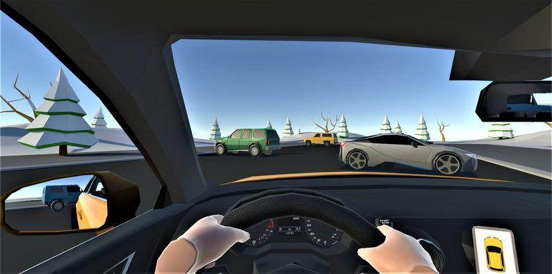 Oculus Quest 游戏《Car Parking Simulator》停车场模拟器插图(1)