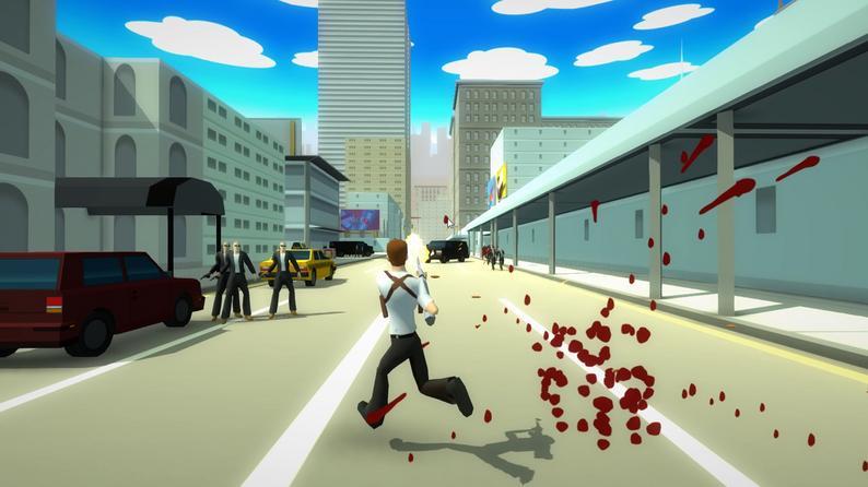 Oculus Quest游戏《City Avenger》侠盗猎手车插图