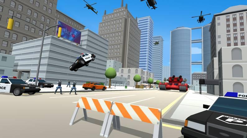 Oculus Quest游戏《City Avenger》侠盗猎手车插图(3)