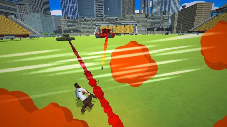 Oculus Quest游戏《City Avenger》侠盗猎手车插图(4)