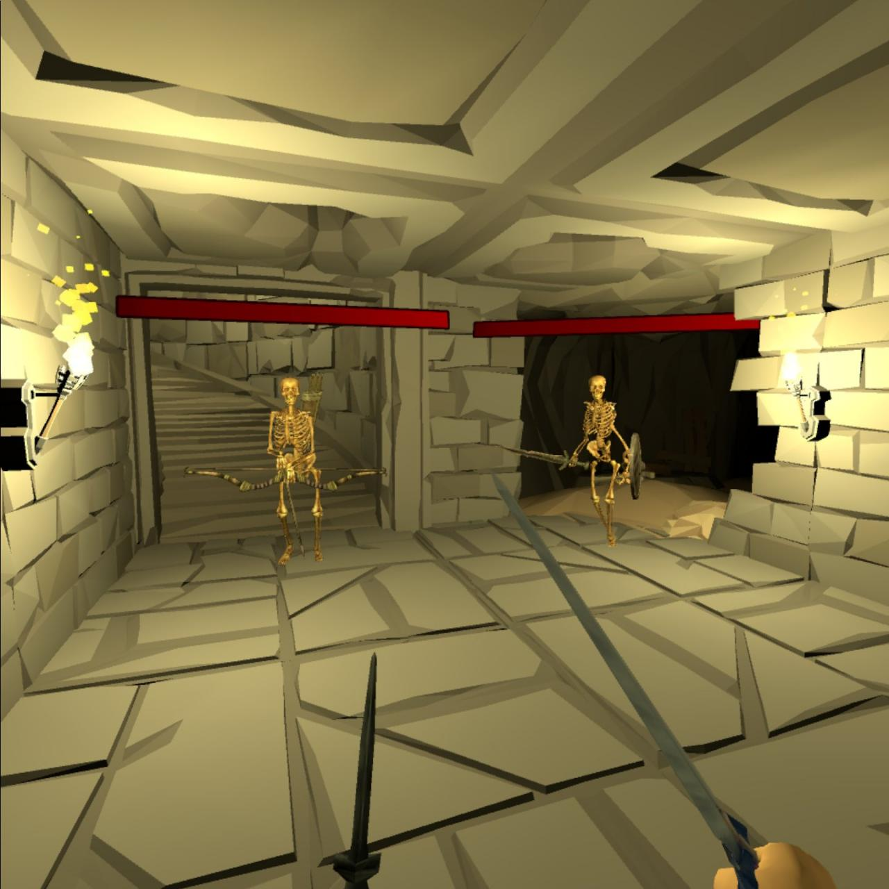 Oculus Quest版本 地牢火车Dungeon Train